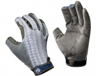 Buff Gray Scale Gloves