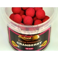 Select Baits pop-up luminiscent Cranberry