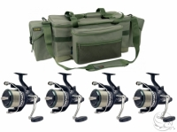 Shimano Big Baitrunner XT-A LC x 4 + Deluxe Carryall