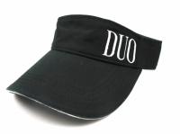 DUO Logo Sunvisor Black