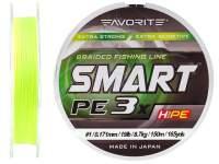 Fir textil Favorite Smart PE 3X Fluo Yellow 150m