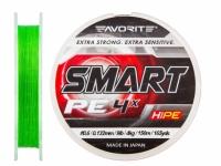 Fir textil Favorite Smart PE 4X Fluo Green 150m