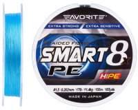 Fir textil Favorite Smart PE 8X Sky Blue 150m