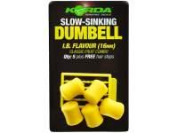 Korda Slow Sinking Dumbells 16mm