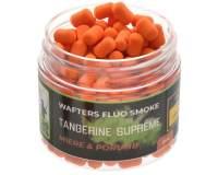 220 Baits Fluo Smoke Wafters 6mm Orange Honey and Sweetcorn