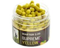 220 Baits Supreme 4mm Wafters Yellow