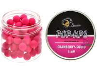 Baitmaker Cranberry Squid Micro Pop-ups