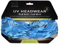 Bandana DUO UV Headwear Blue Geo Camouflage