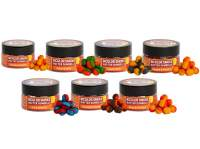 Benzar Mix Bicolor Smoke Wafter Dumbells 12x8mm