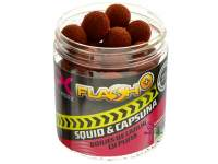 Boilies de carlig CPK Flash Plus Squid and Strawberry Hookbaits