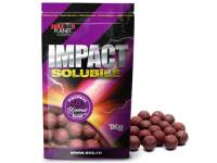 Senzor Impact Soluble Boilies VM Squid & Strawberry 1kg