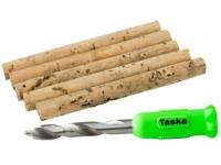 Burghiu Taska Nut Drill & 5 Cork Sticks