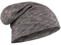 Caciula Buff Merino Wool Heavyweight Loose Fog Grey Multi Stripes