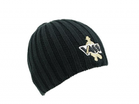 Vass Heavy Knit Beanie Hat Black