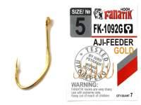 Carlige Fanatik FK-1092G Aji Feeder Gold
