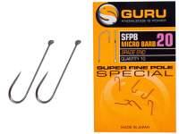 Guru SFPB Super Fine Pole Barbed Hooks