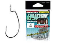 Carlige offset Decoy Worm 27 Hyper Mini Hooks