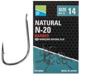 Carlige Preston Natural N-20 Hooks