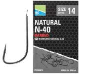 Carlige Preston Natural N-40 Hooks