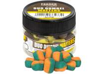 Carp Zoom FC Duo Dumbel Wafters Squid Apricot