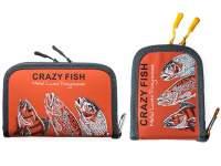 Cutie Crazy Fish Orange Spoon Case Large