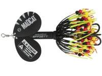 D.A.M. Madcat A-Static Rattlin Teaser Spinner 75g Black
