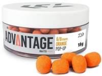 Daiwa Advantage Pop Up Hookbait Orange