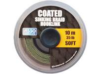 Asso Coated Soft Sinking Braid Hooklink 10m