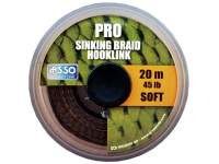 Fir Asso Pro Soft Sinking Braid Hooklink 20m