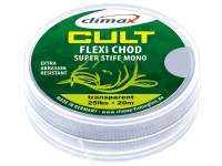 Fir Climax Cult Carp Flexi Chod Super Stiff Mono 20m Transparent