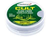 Climax Cult Carp Flexi Chod Super Stiff Mono 20m Transparent