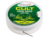 Climax Cult Carp Snake Braid Leadcore 10m Weed