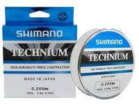 Fir monofilament Shimano Technium 200m Low Vis Grey