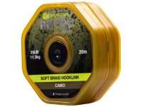 Fir RidgeMonkey RM-Tec Soft Braid Hooklink Camo