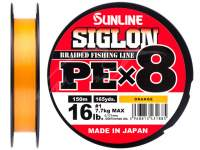 Fir Sunline Siglon PE X8 Orange 150m