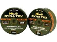 Fir texti K-Karp Dyna Tex X-Tra Tough Hooklink Sinking 20m