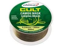 Climax Cult Carp Camou Mask Sinking Braid 1200m