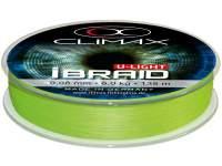 Climax iBraid U-Light Chartreuse 135m