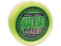 Fir textil D.A.M. Madcat 8-Braid 270m Fluo Green