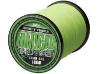 Fir textil D.A.M. Madcat Distance 8 Braid 990m Hi Vis Green