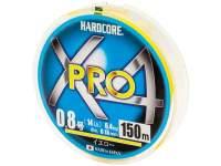 Fir textil Duel Hardcore X4 Pro 150m Yellow