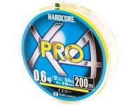 Fir textil Duel Hardcore X4 Pro 200m Yellow