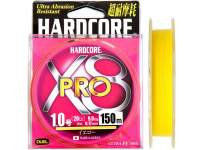 Fir textil Duel Hardcore X8 Pro 150m Yellow