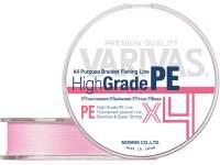 Fir textil Varivas High Grade PE X4 150m Milky Pink