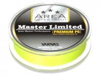Fir textil Varivas Super Trout Master PE Fluo Yellow 75m