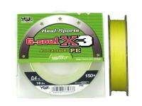 Fir textil YGK G-Soul X3 PE 150m