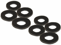 Garnituri Fox Black Label Leather Washers