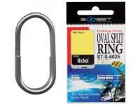 Sunset Oval Split Ring ST-S-6025