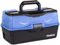Jaxon Flambeau Tackle Box Classic 3-Tray 6383FB Frost Blue