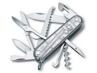 Multifunctional Victorinox Huntsman Transparent SilverTech